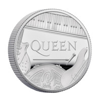 Queen stříbrná mince 1/2 oz proof