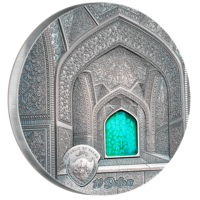 Tiffany Art 2020 - Safavid stříbrná mince 2 oz