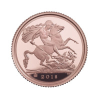 Half Sovereign 2018 zlatá mince  Proof