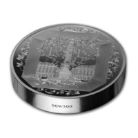 Boucheron stříbrná mince proof 5 oz